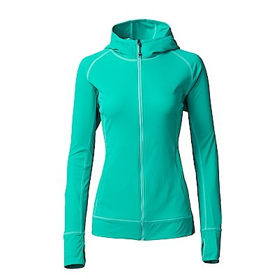【HAKERS】女款  抗UV透氣外套(翠綠)