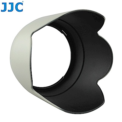 JJC副廠Canon佳能ET-83II遮光罩(白色,蓮花)-LH-83II
