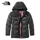 The North Face北面女款黑色舒適保暖羽絨外套|3VRDKX7