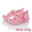 HelloKitty 糖果系列 輕量減壓抗菌防臭室內外娃娃童鞋-粉