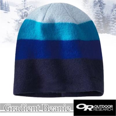 Outdoor Research Gradient Beanie 超輕保暖美麗諾羊毛帽子_夜藍