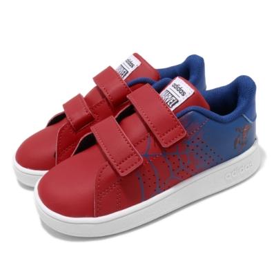 adidas 休閒鞋 Advantage I 蜘蛛人 童鞋