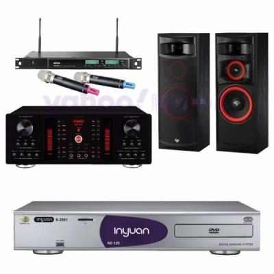 音圓 S-2001 N2-120+FNSD A-450+ACT-589+XLS-12(伴唱機4TB+卡拉OK套組)