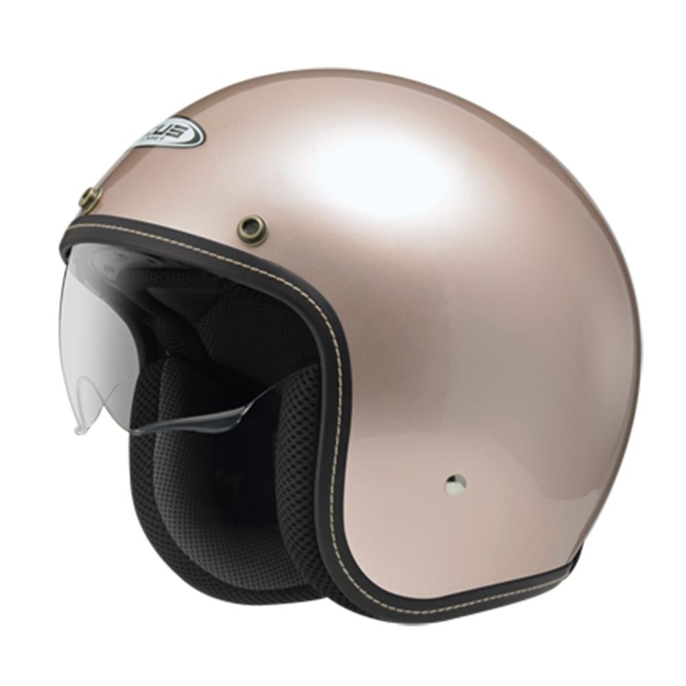 【ZEUS】388A 素色 3/4罩 騎士帽(安全帽│機車│內襯│半罩│內藏墨鏡│可加購鏡片 GOGORO) product image 1