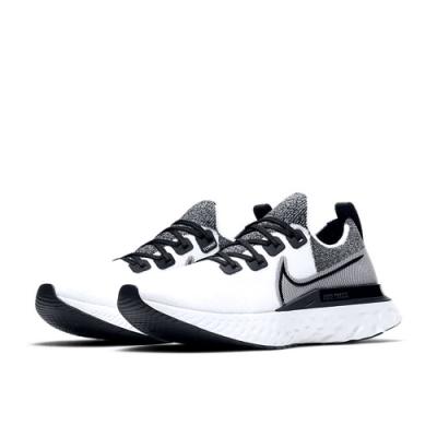 NIKE 運動鞋 男鞋 緩震 慢跑 訓練 白黑 CD4371010  REACT INFINITY RUN FK