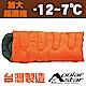 PolarStar 加大型纖維睡袋 P16730 橘 product thumbnail 2