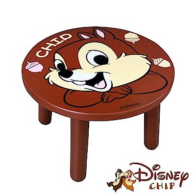 Disney 台灣製奇奇大頭造型矮凳椅子