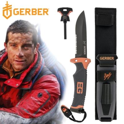 Gerber 貝爾求生系列終極半齒半刃固定刀31-000751
