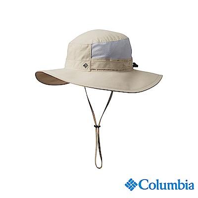 Columbia 哥倫比亞中性-UPF50涼感快排遮陽帽-卡其UCU01330KI