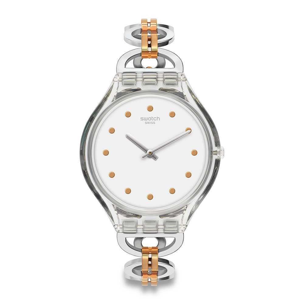 Swatch SKIN超薄系列 SKINRING 心心相扣手錶