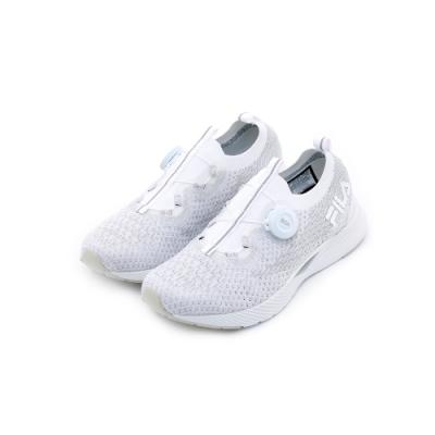 FILA V1 女性慢跑鞋-白 5-J530T-141