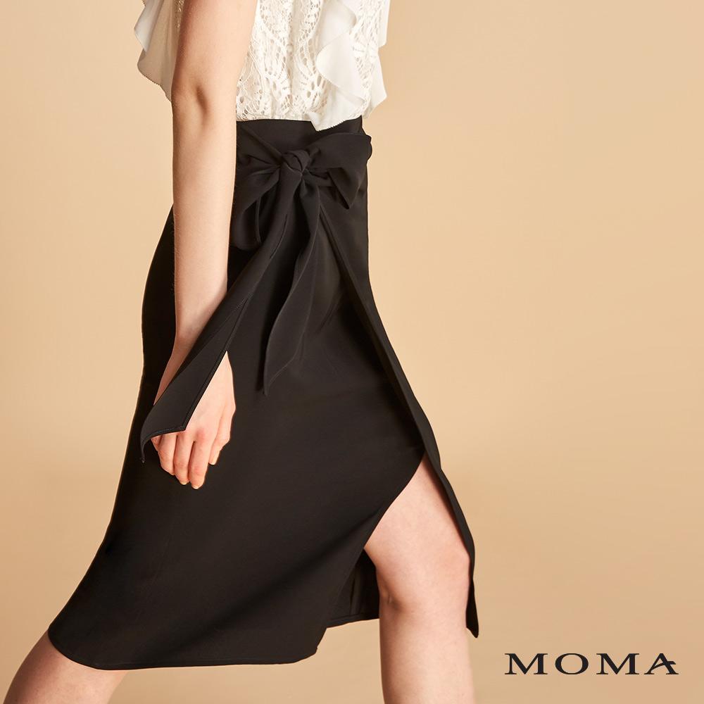 MOMA 綁帶窄裙
