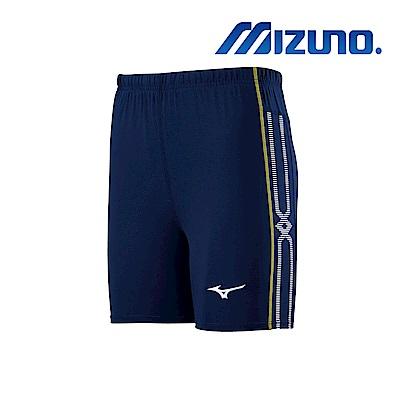 MIZUNO 緊身褲(短型) 深丈青 U2TB9G0314