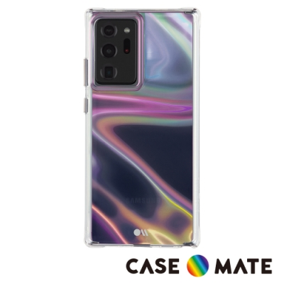 美國 Case●Mate Samsung Galaxy Note20 Ultra 5G Soap Bubble 幻彩泡泡防摔抗菌手機保護殼