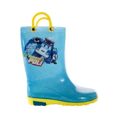 台灣製POLI波力款長筒雨鞋 sa01606 魔法Baby