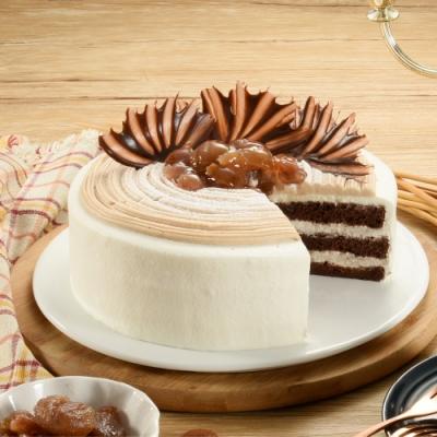 亞尼克蛋糕 栗香巧克力6吋