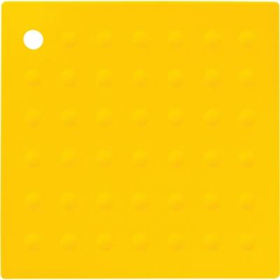 《Premier》Zing方形矽膠隔熱墊(黃)