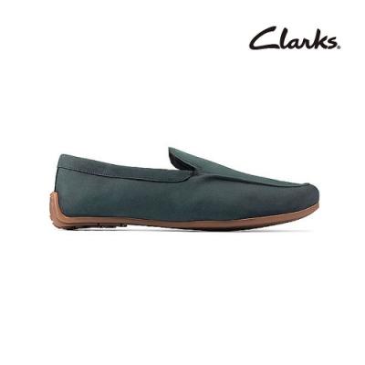 Clarks   摩登經典  Reazor Plain 男休閒鞋  藍色  CLM48030SC20