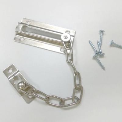 HK001 鐵製 銀色 防盜鏈 安全門鏈 防盜鍊 門鍊 門鏈 防盜鎖 鍊鎖 台灣製 附螺絲