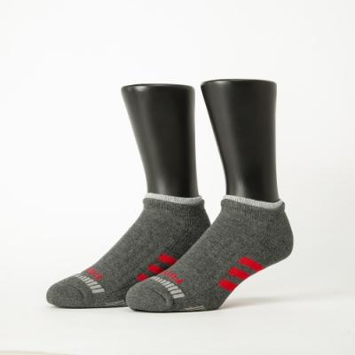 Footer除臭襪-輕壓力三線運動船短襪-六雙入(黑*2+灰*2+白*2)