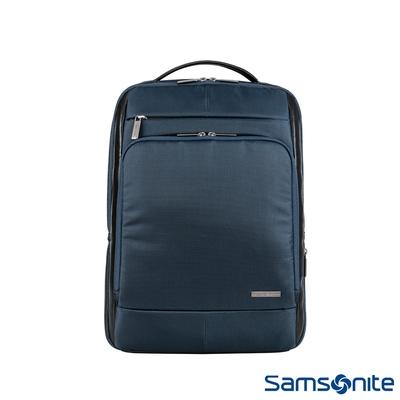 Samsonite新秀麗 Garde經典多功能夾層筆電後背包 15