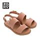 ZAXY LINK SAND 鏈接系列造型涼鞋-裸棕 product thumbnail 1