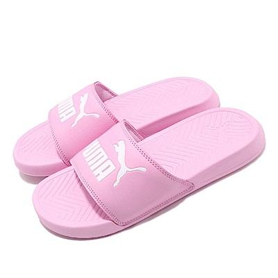 Puma 涼拖鞋 Popcat JR 女鞋