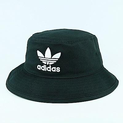 ADIDAS-BUCKET HAT AC漁夫帽-黑