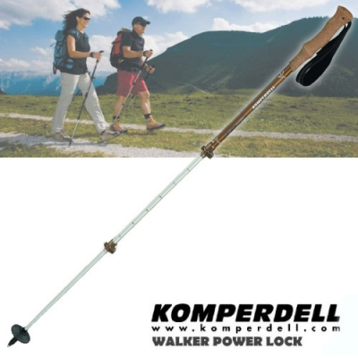 KOMPERDELL RIDGEHIKER CORK 7075 航太鋁合金軟木握把健行登山杖
