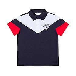 FILA KIDS POLO衫-丈青 1POT-4428-NV
