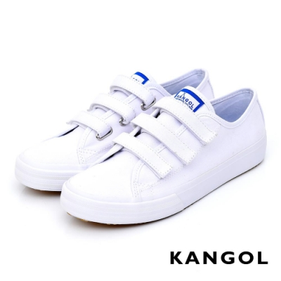 【KANGOL】休閒三帶帆布鞋-共三色