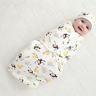 JoyNa 可調式簡易嬰兒包巾 懶人包巾