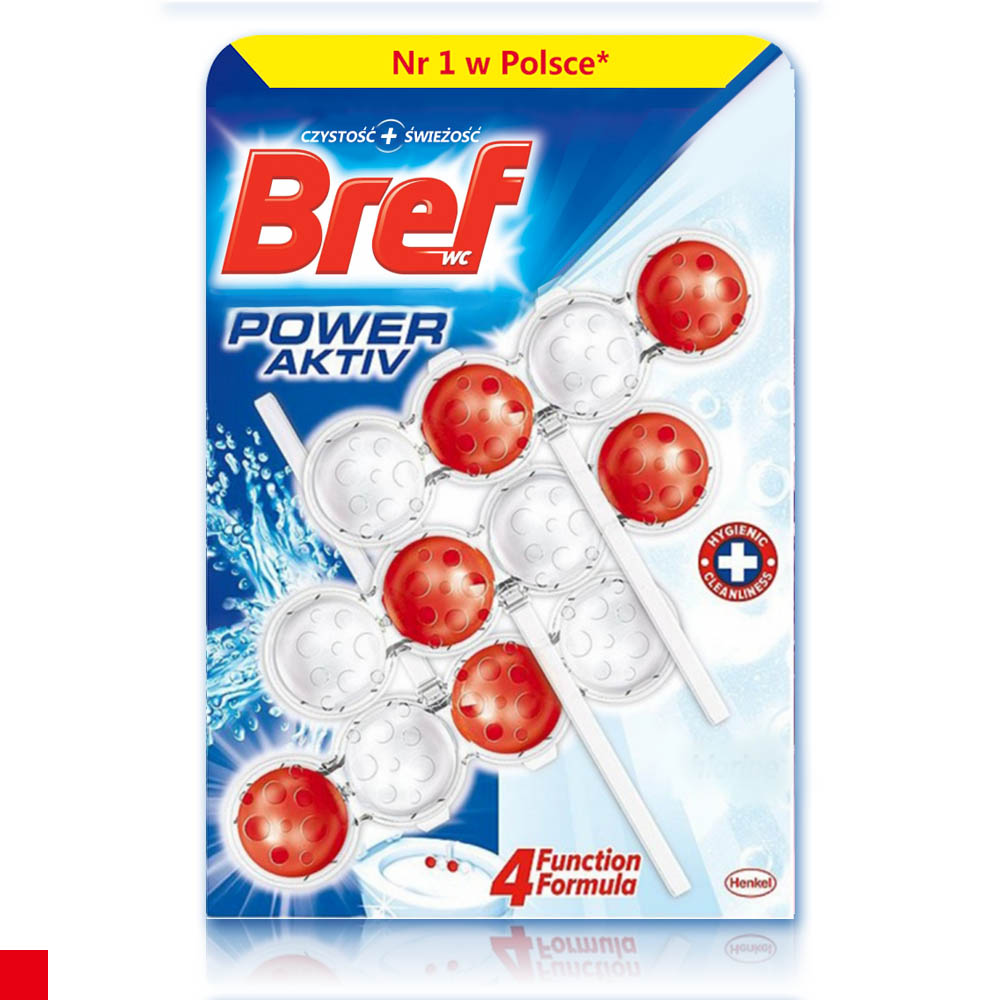 Bref 馬桶芳香清潔球(抗菌除臭) 3入組 50g