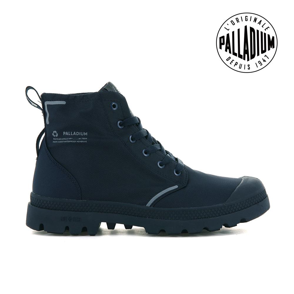 PALLADIUM PAMPA LITE+ RCYCL WP+再生纖維輕量防水靴-中性-深藍