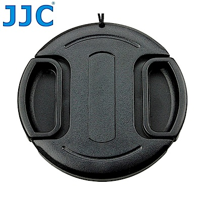 JJC副廠無字中捏鏡頭蓋82mm鏡頭蓋LC-82(B款,附孔繩)快扣鏡頭蓋82mm鏡頭保護前蓋