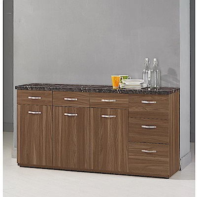 MUNA 羅納爾5.2尺石面收納餐櫃下座  156.5X41.5X82.5cm