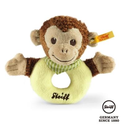 STEIFF德國金耳釦  Jocko monkey grip toy  猴子 (嬰幼兒手搖鈴)