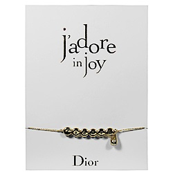 Dior迪奧J adore in joy愉悅時尚水滴手鍊