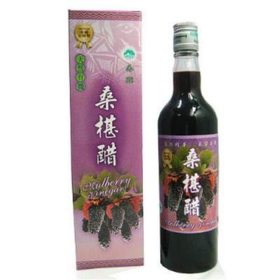 花蓮桑椹 桑椹果粒汁(3瓶)+桑椹醋(3瓶)