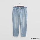 Hang Ten - 男裝 - 綁帶彈性休閒牛仔褲 - 淺藍