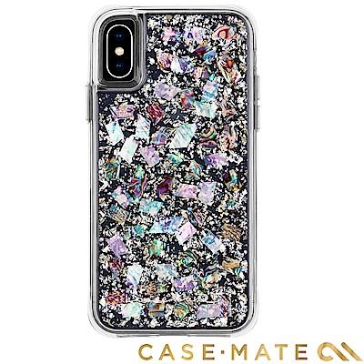 美國 Case-Mate iPhone XS Max Karat 貝殼銀箔防摔殼