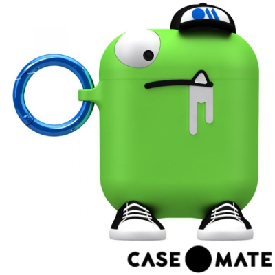 美國 CASE●MATE AirPods 可愛怪物保護套 - 天生領導的喬克 - 綠色
