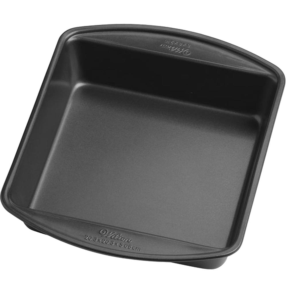 《Wilton》8吋寬柄不沾方形深烤盤