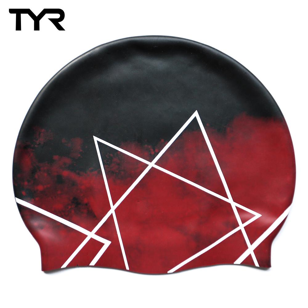 美國TYR 成人矽膠泳帽 Polygon