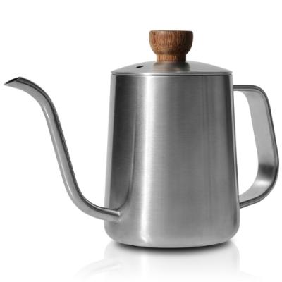 CUG 咖啡細口手沖壺350ml-鋼色
