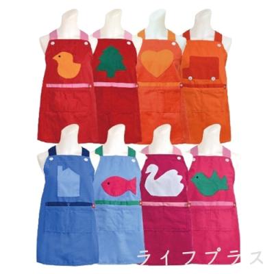 拼布兒童圍裙×3入