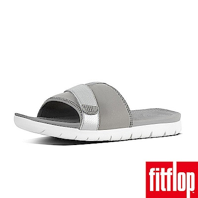 FitFlop NEOFLEX SLIDE SANDALS-淺灰/銀色