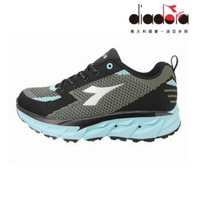 Diadora 女氣動越野鞋 黑藍 DA9AWO7056