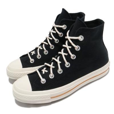 Converse 休閒鞋 All Star 高筒 穿搭 男女鞋 基本款 帆布 三星標 情侶鞋 簡約 黑 米白 170854C