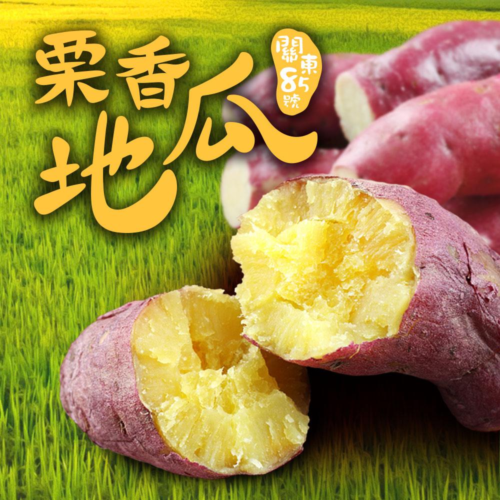 【愛上新鮮】特A級日本栗香地瓜24包(300g/包)
